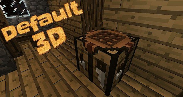 Default-3D-Resource-Pack-for-minecraft