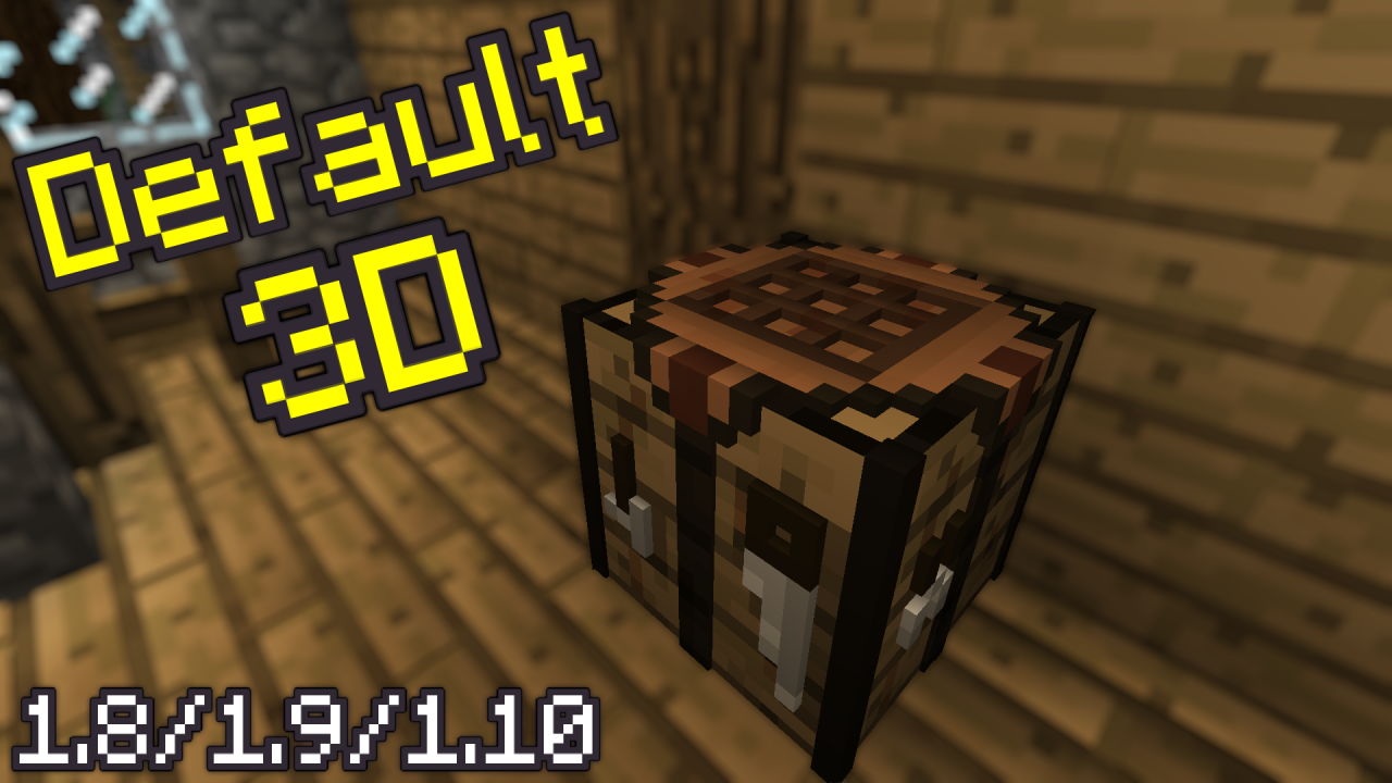 default 3d resource pack 1.10