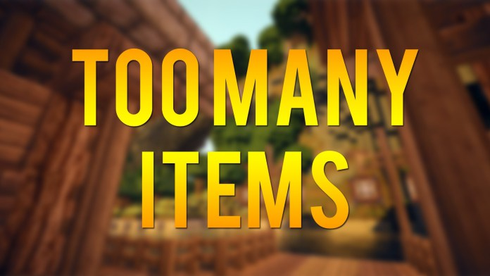 too many items mod