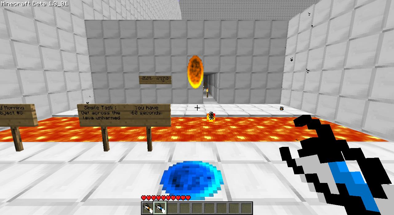 Мод портал в рай для minecraft 1.7.2