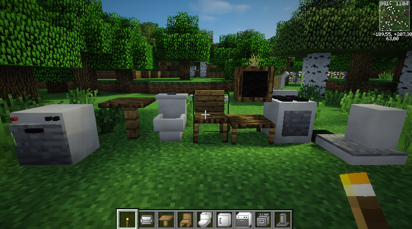 Furniture Mod For Minecraft Minecraft Mods
