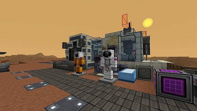 galacticraft mod mars base