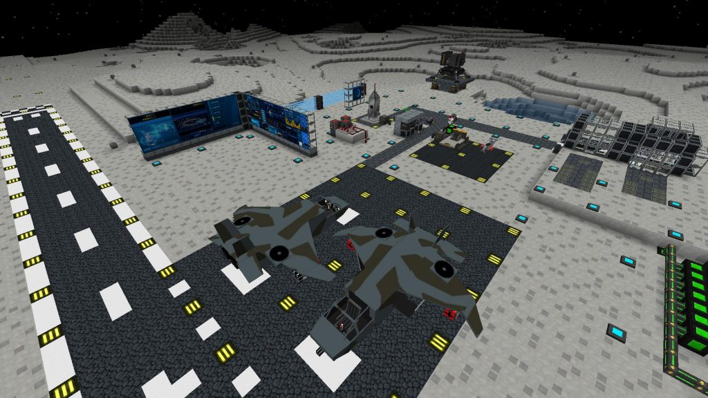 galacticraft mod moon base