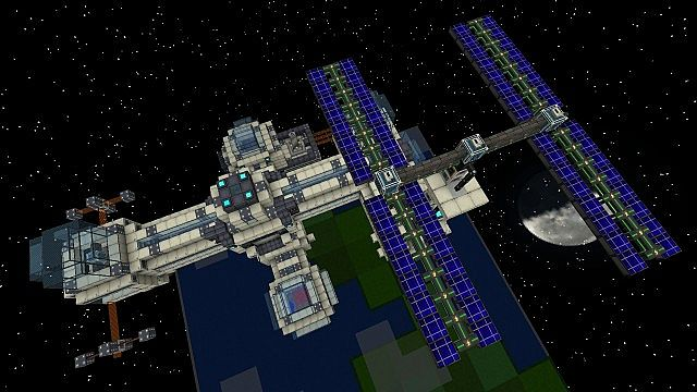 galacticraft mod space base