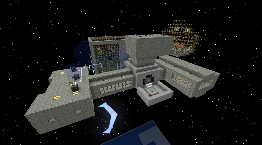 galacticraft mod space house