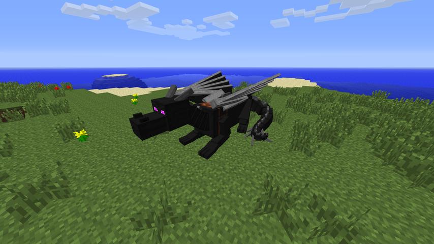 Dragon Mounts Mod 2
