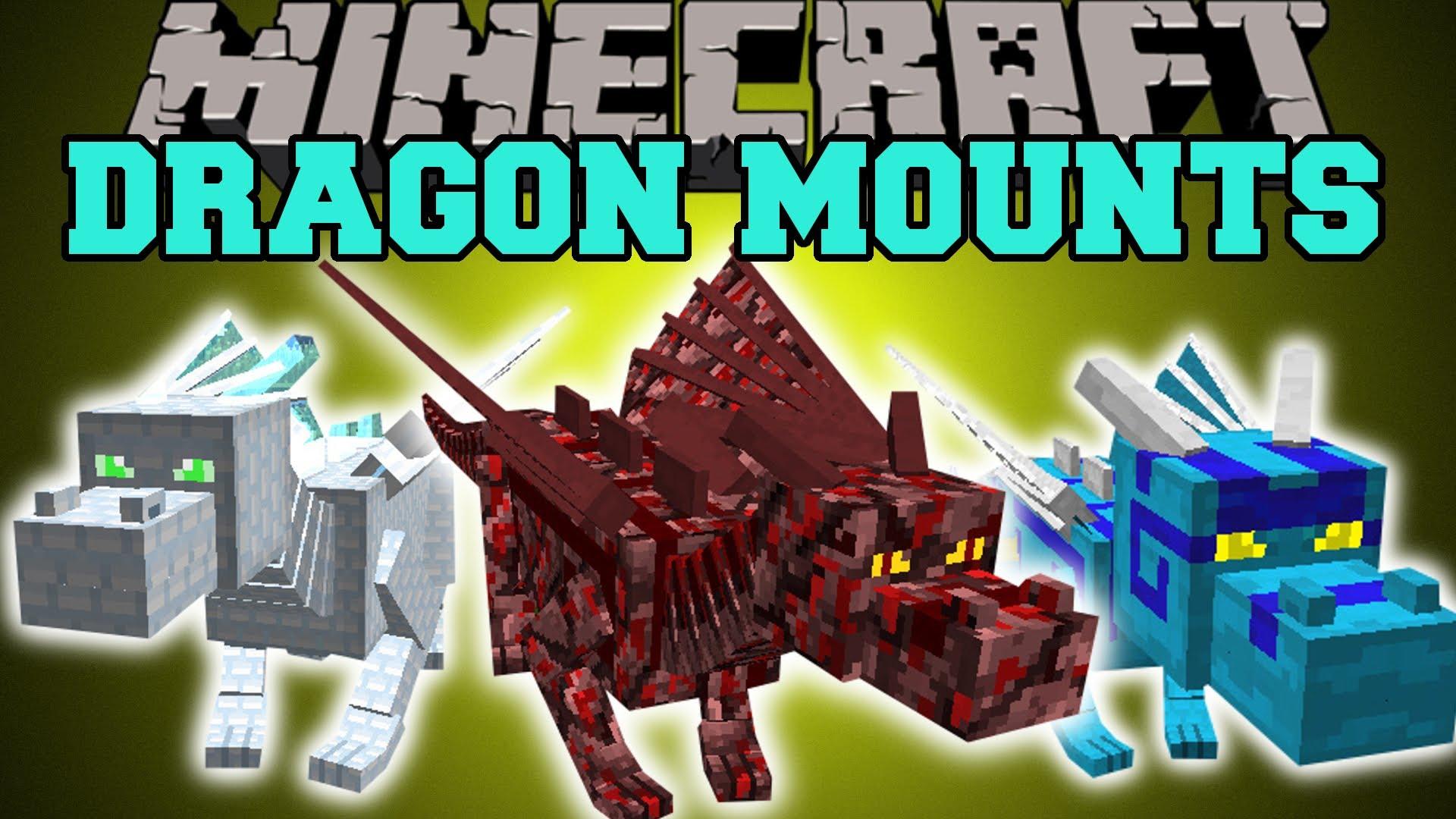 Dragon Mounts Mod download