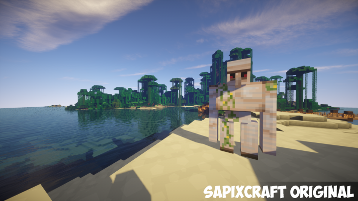 SapixCraft Resource Pack 7