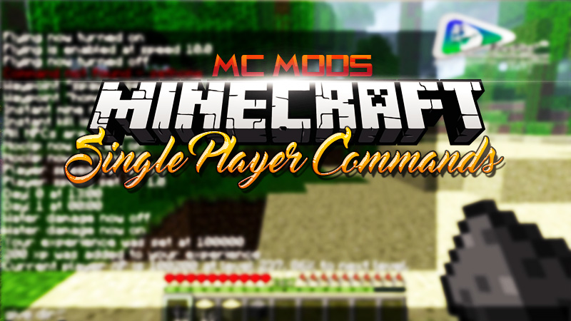Single-Player-Commands-Mod