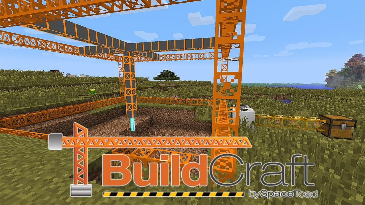 Мод buildcraft для minecraft 1. 12.