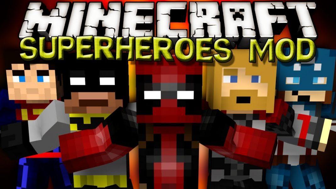 скачать моды для майнкрафт 1.7.2 на супергероев #10