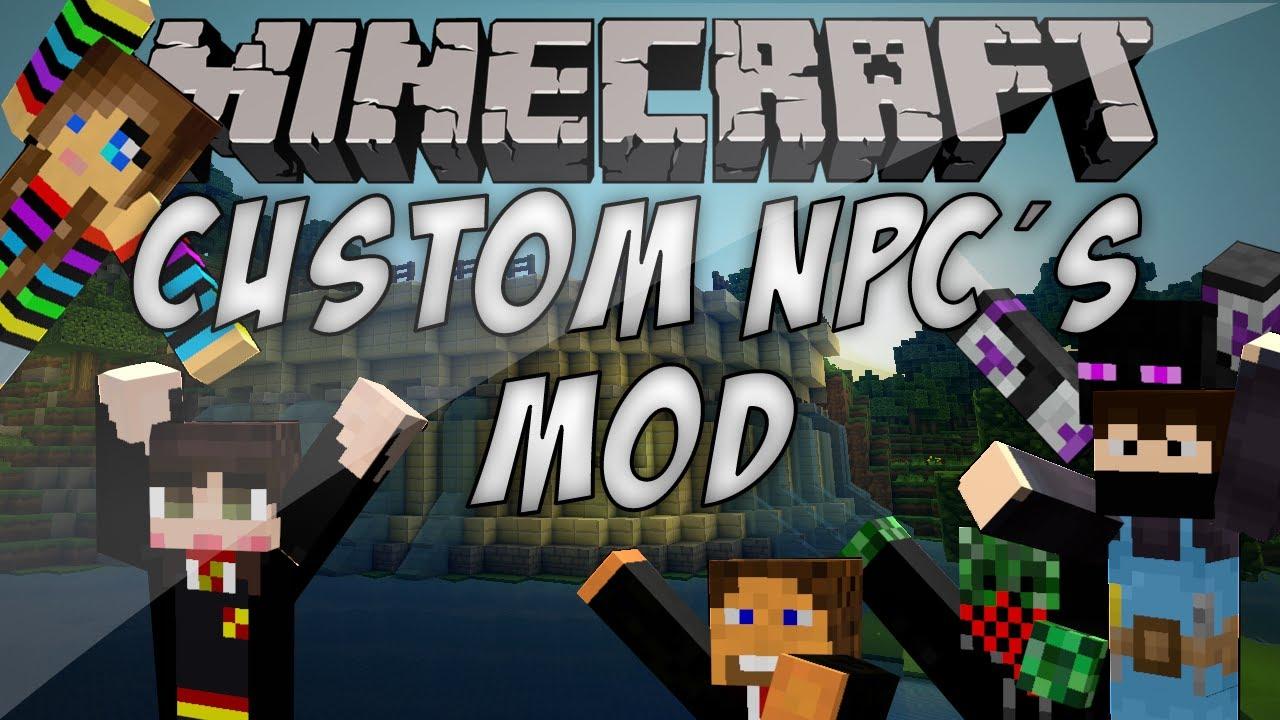 custom npcs mod 3