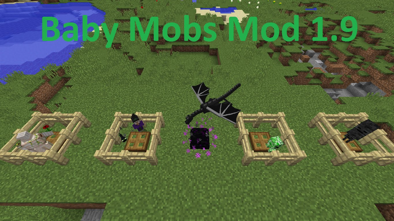 Baby Mobs Mod for Minecraft 1 16/1 15 2