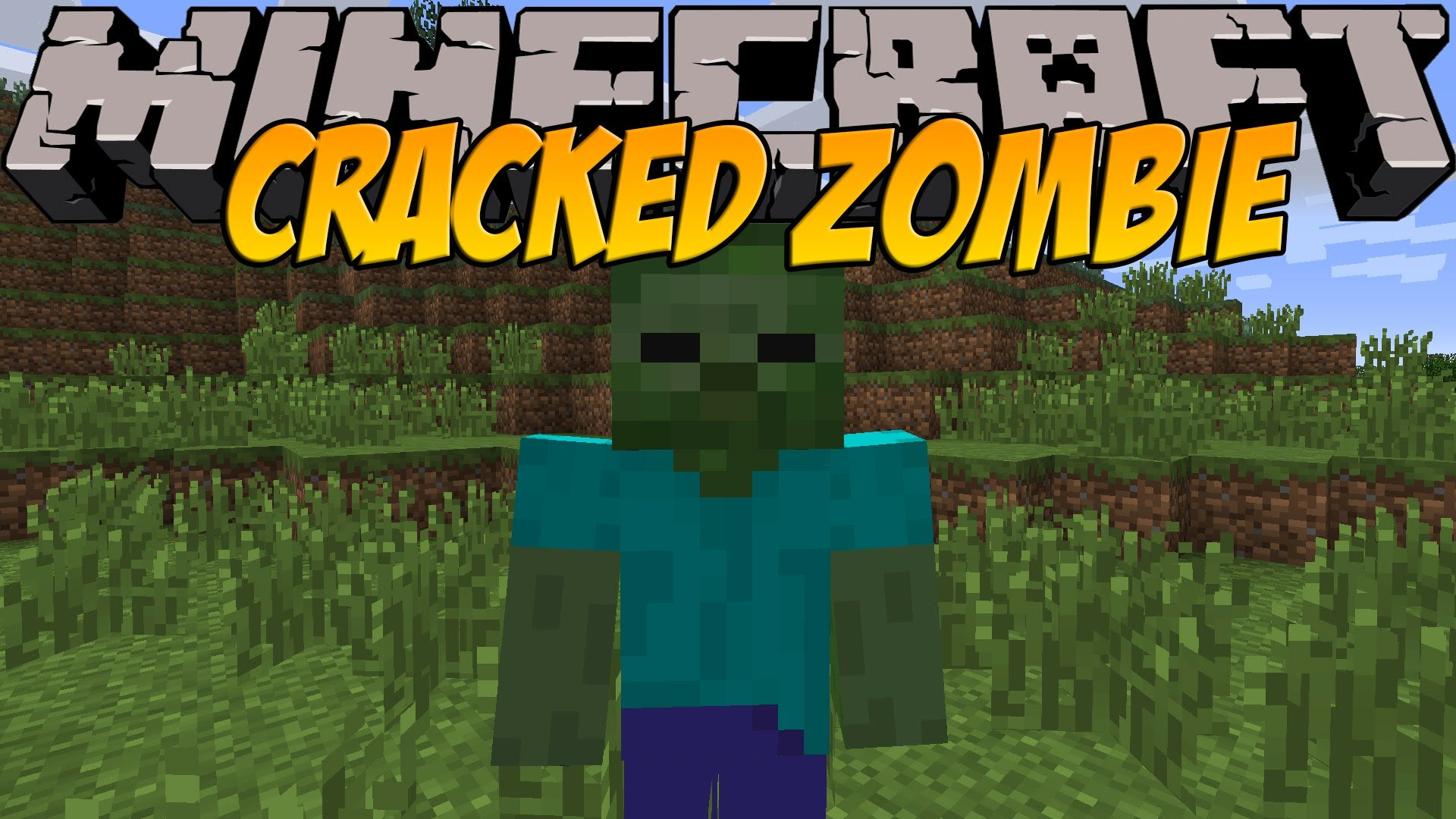 Cracked Zombie for Minecraft 5