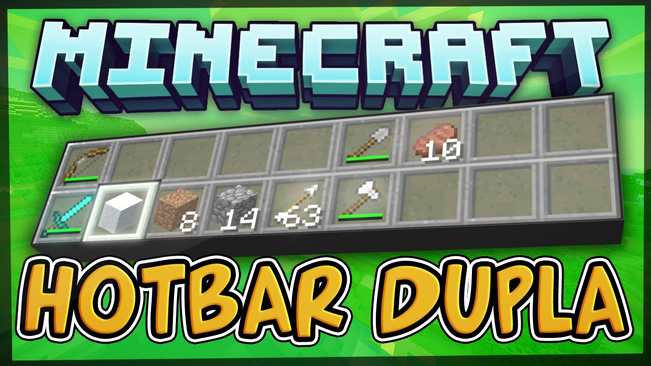 Dual Hotbar Mod 1