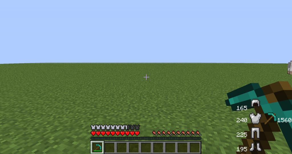 Мод ArmorStatusHUD для Minecraft 1.7.10/1.7.2/1.6.4/1.6.2 ...