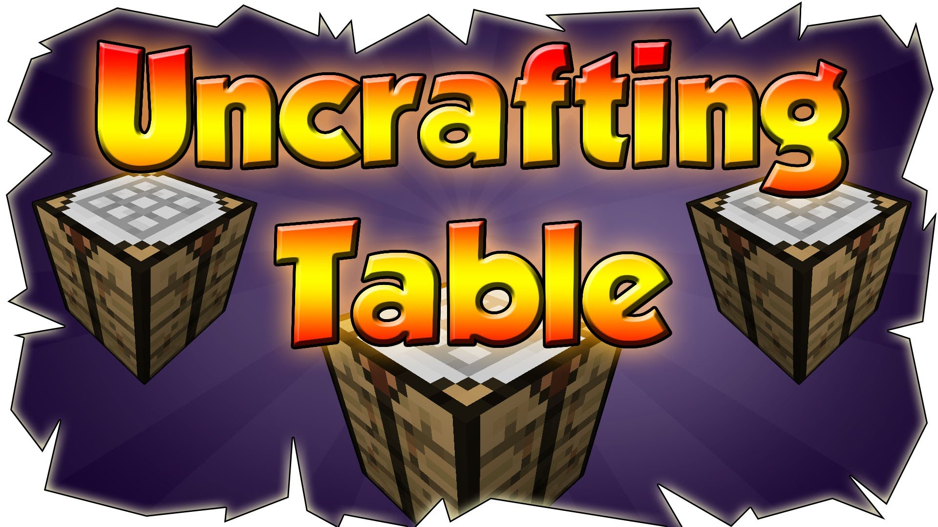 Uncrafting Table Mod 1