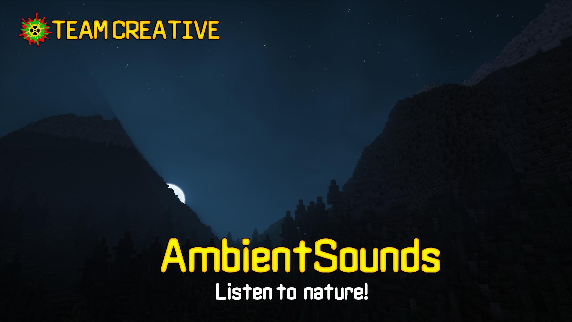 Ambient Sounds Mod 1