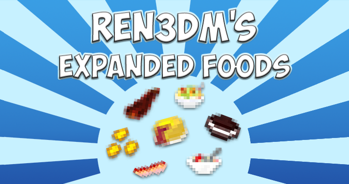 Expanded Food Mod 2