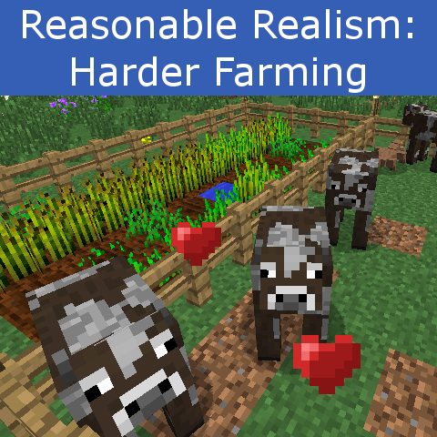 Harder Farming Mod 1