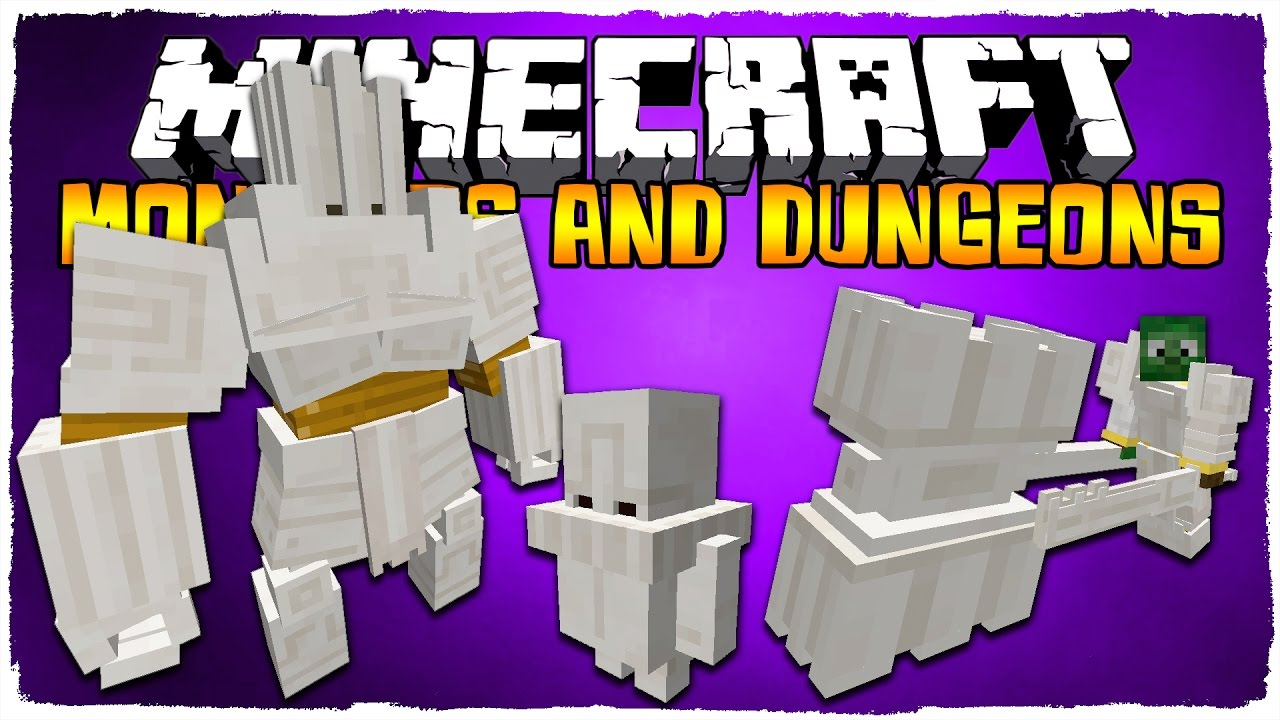 Monsters and Dungeons Mod 1