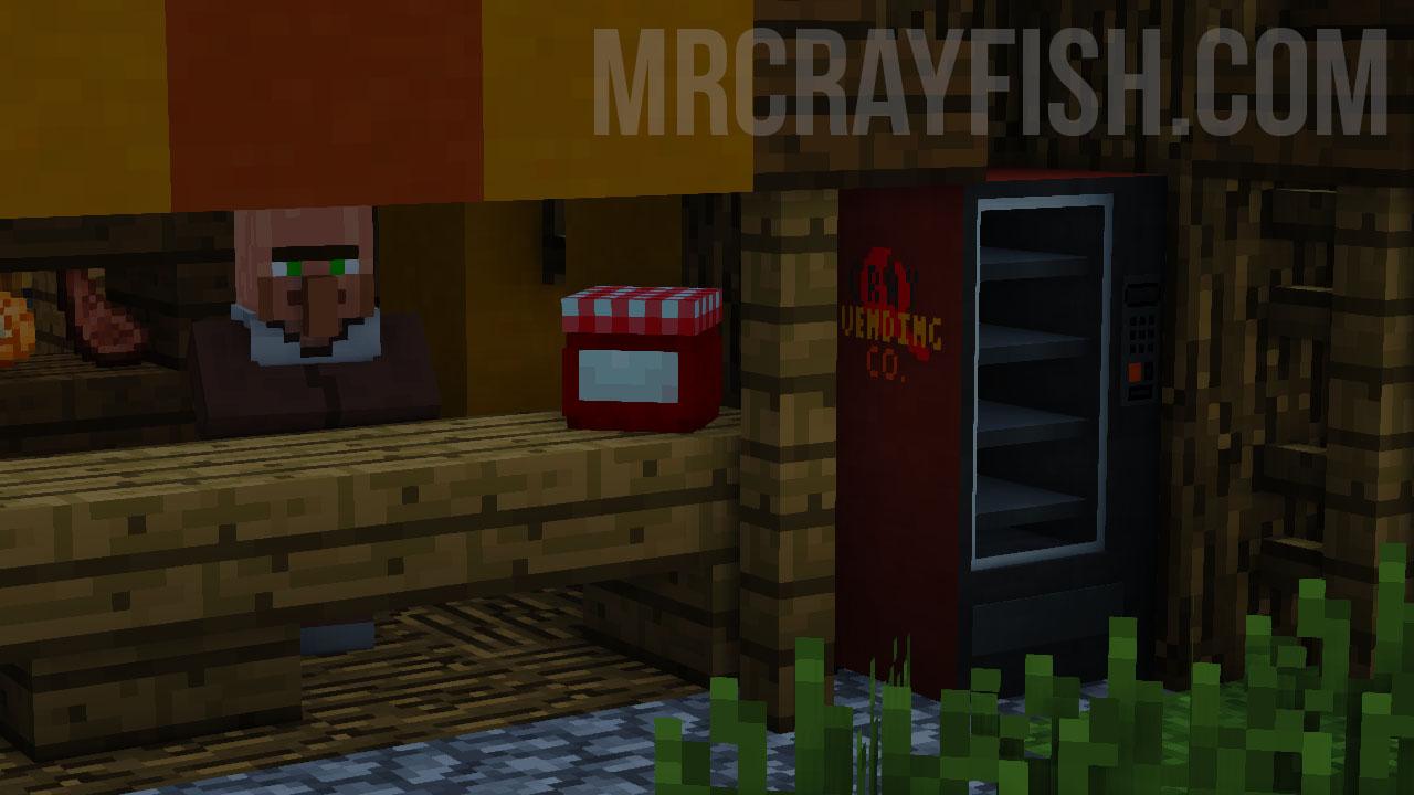 MrCrayfish's Vending Machine Mod 4