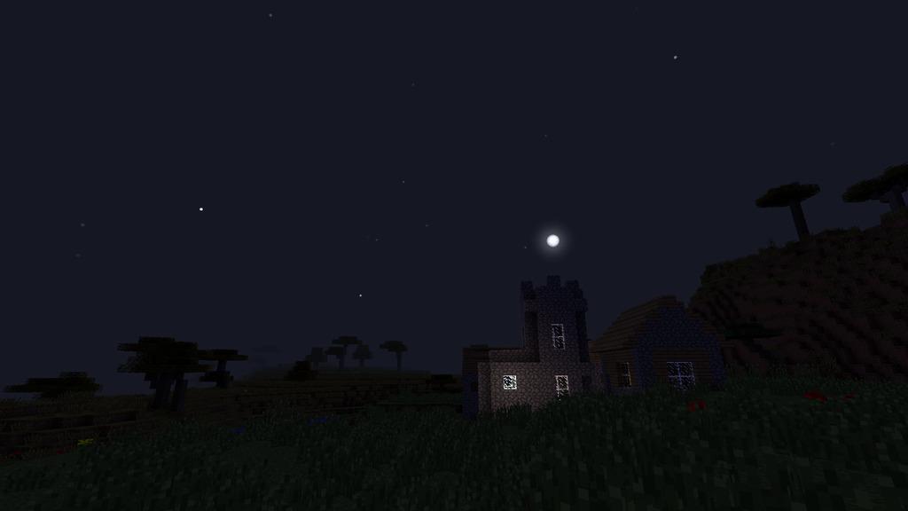 мод на звездное небо для майнкрафт 1.7.10 #7