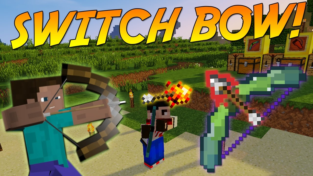 Switch Bow mod minecraft