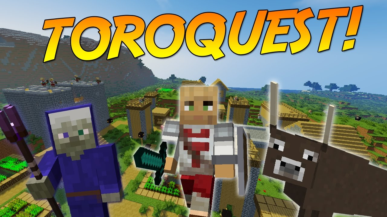 ToroQuest Mod for minecraft