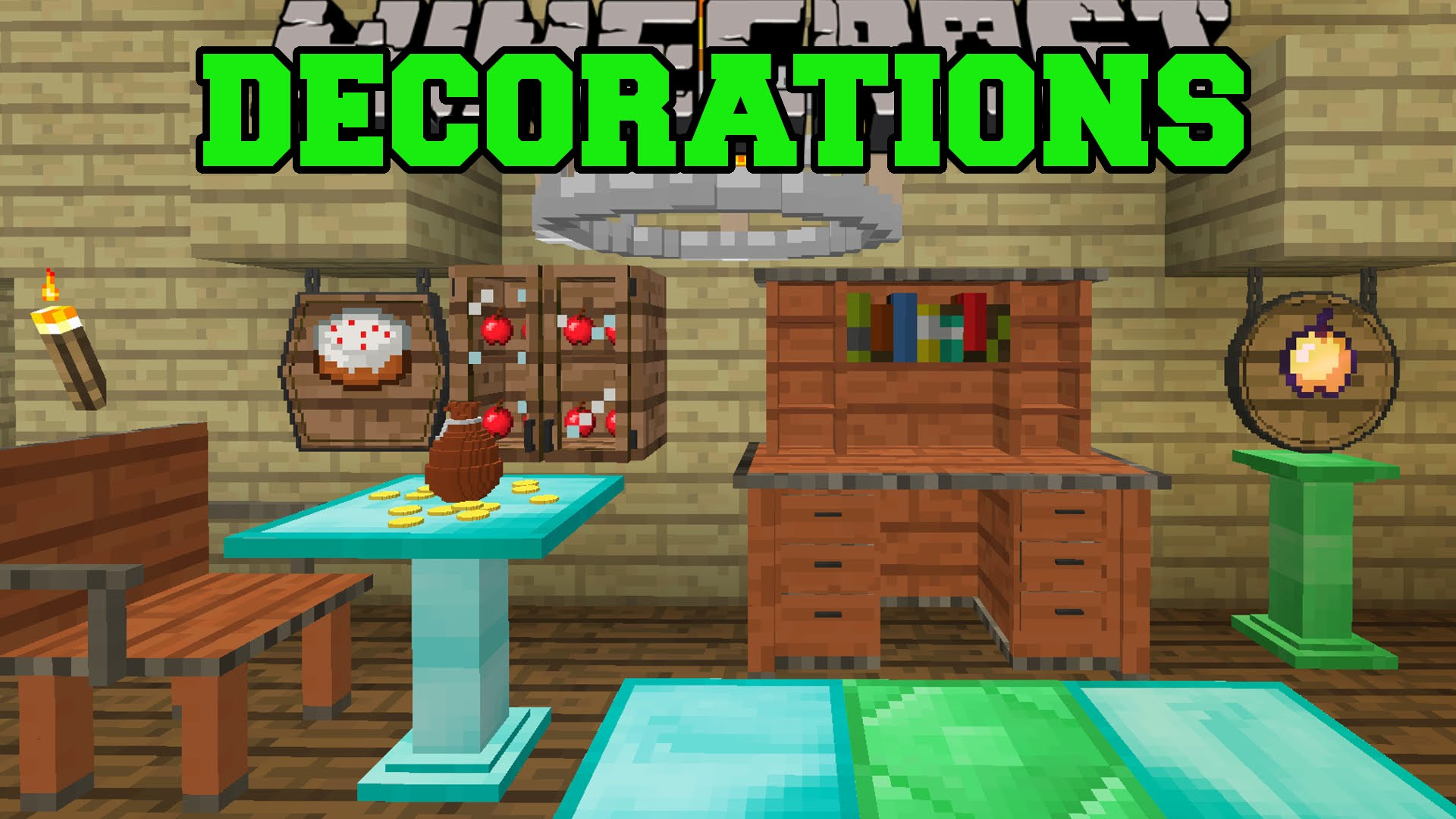 Minecraft home decor mod for Decoration maison minecraft