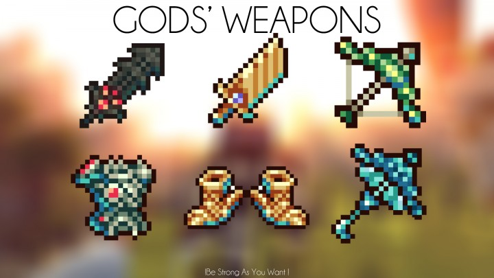 Gods' Weapons Mod 2
