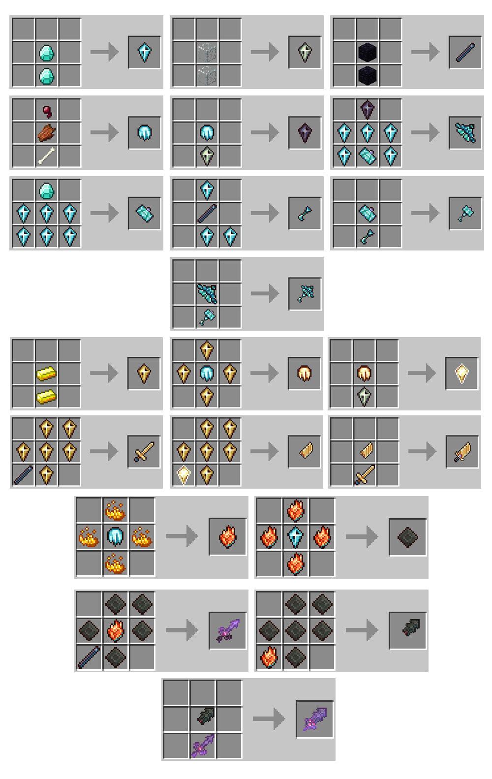 Custom Npcs Armor Crafting Recipes | Treeofflife org