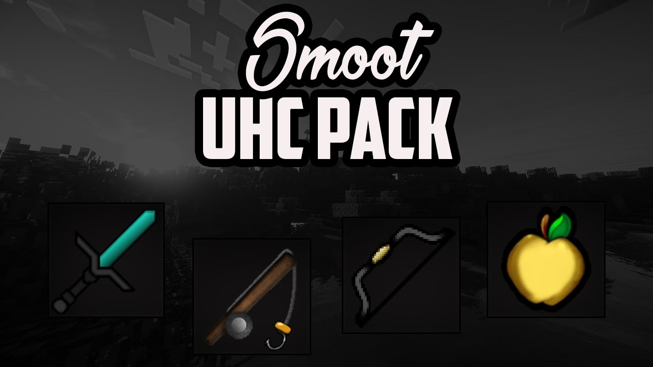 Smooth UHC PvP Texture Pack for Minecraft 11212.112126.11212/11212.1121211212.12  MinecraftOre