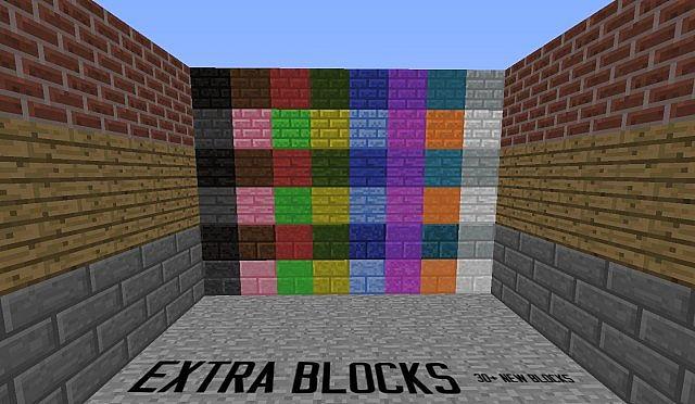 Скачать Мод Extra Blocks - фото 2