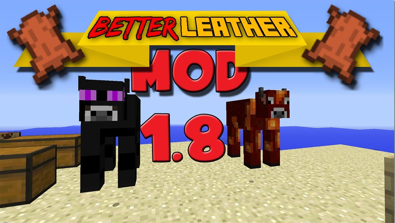 how to get leather minecraft