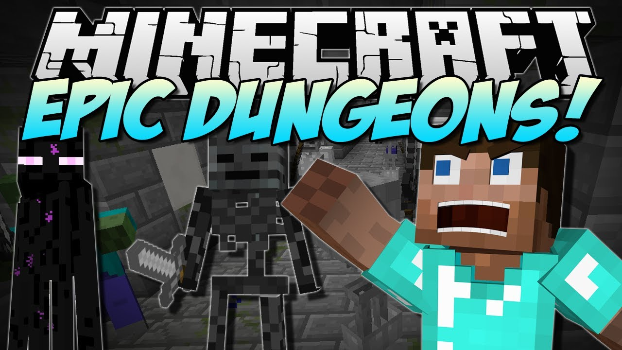 Dungeons Mod for minecraft5
