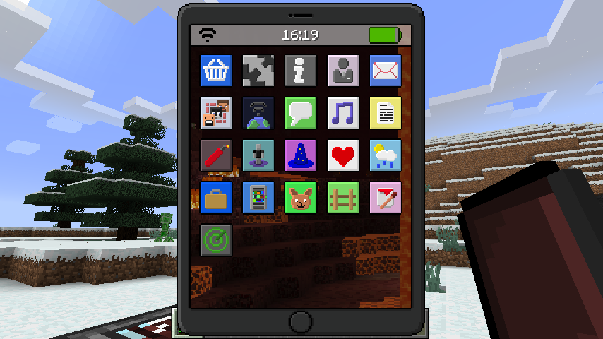 EyeMod iPhone Mo for Minecraft 1 17/1 16 5/1 15 2 MinecraftOre