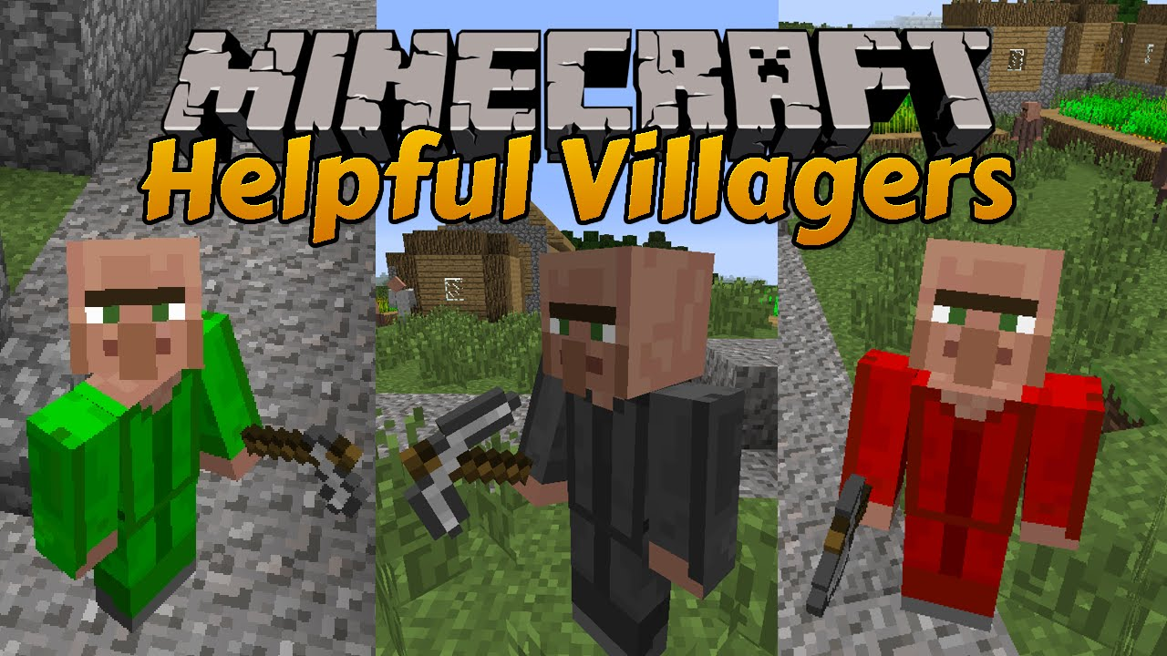 Helpful Villagers Mod