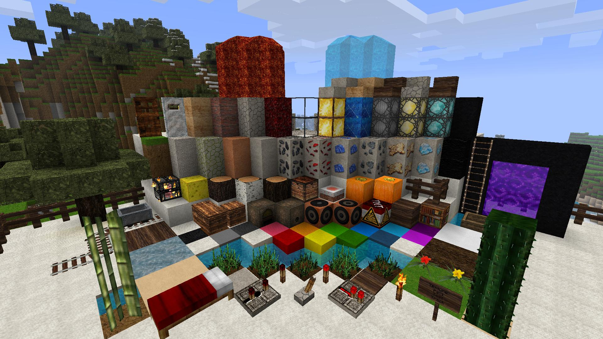 Текстур-паки для Майнкрафт | Minecraft 1.12, 1.12.1, 1.12.2
