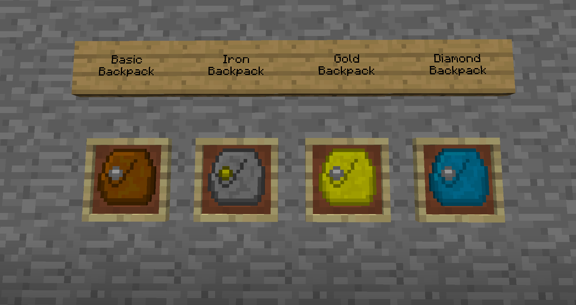 Iron Backpacks Mod For Minecraft 1 10 2 1 8 9 1 7 10