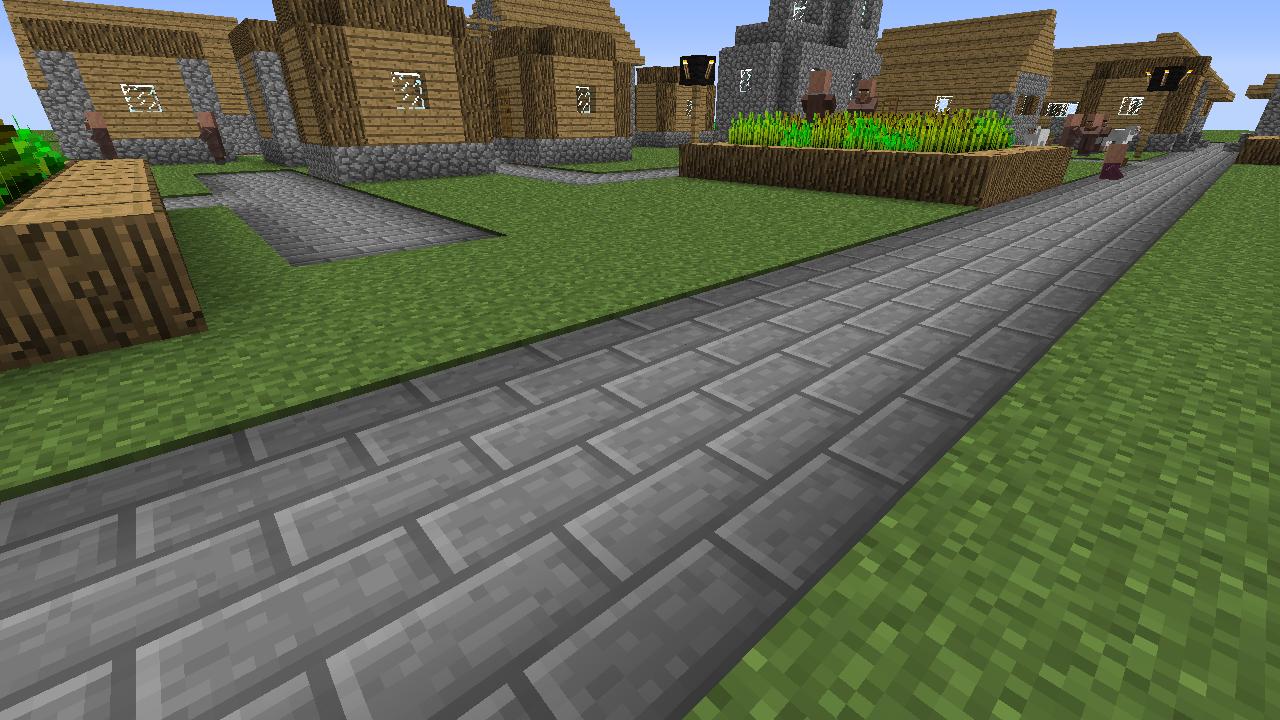 Road Blocks Mod