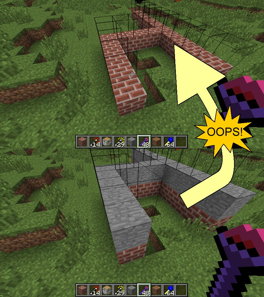 Minecraft Fast Building Mod