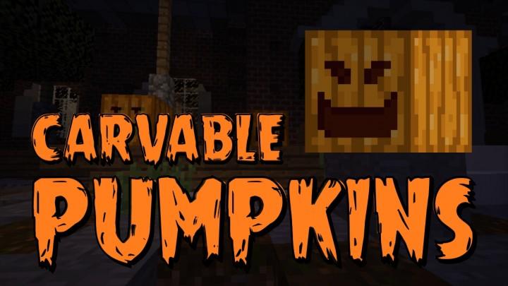 Carvable Pumpkins Mod