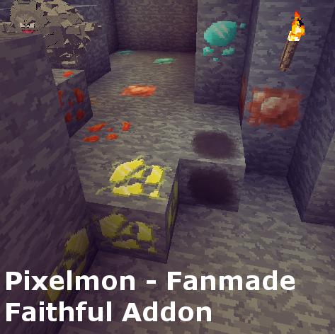 Pixelmon's Faithful Resource Pack