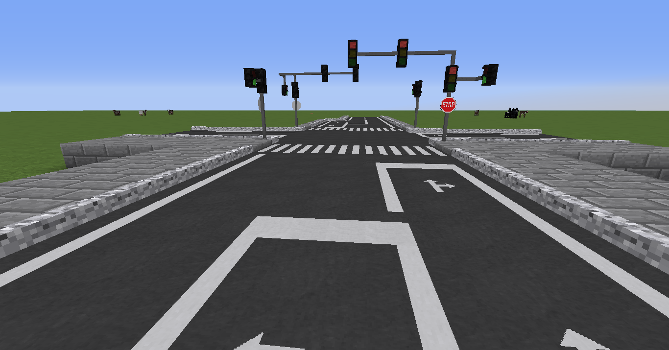Road Mod For Minecraft 1 10 2 1 8 9 1 8 Minecraftore
