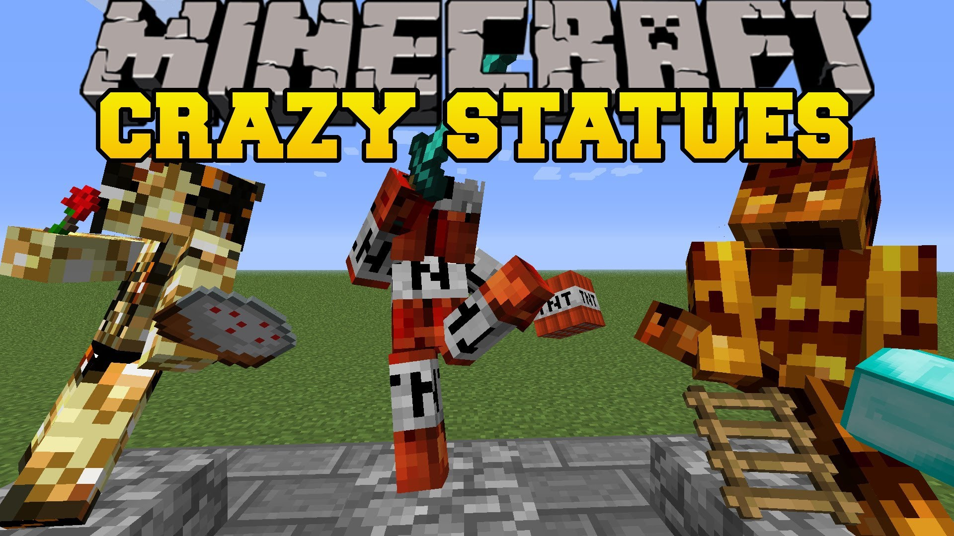 Statues Mod for Minecraft 1.12/1.11.2/1.10.2/1.9.4 ...