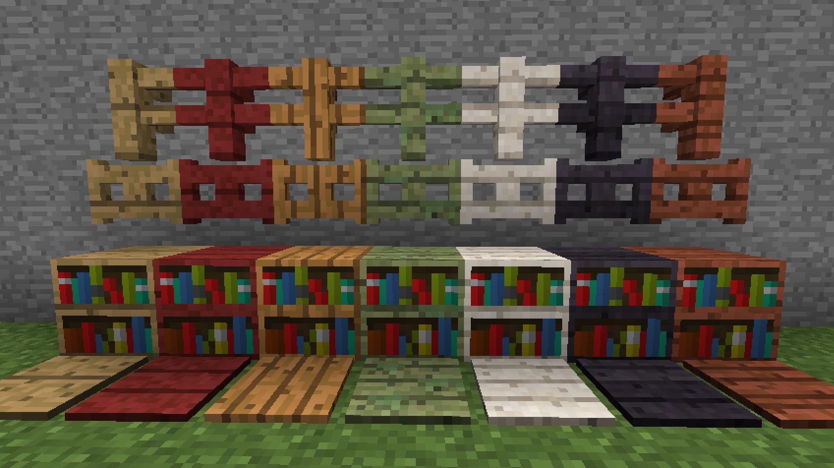 Wood Stuff Mod