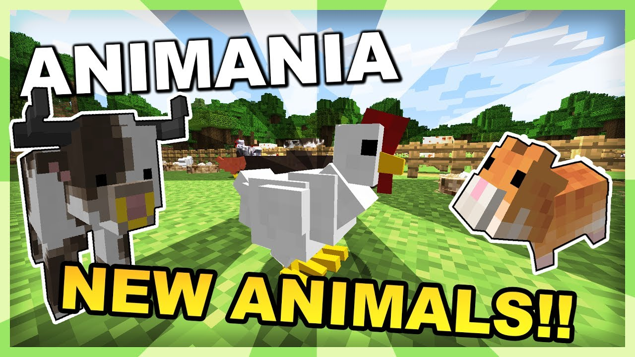 Animania Mod for Minecraft 1 12 1/1 11 2/1 10 2 | MinecraftOre