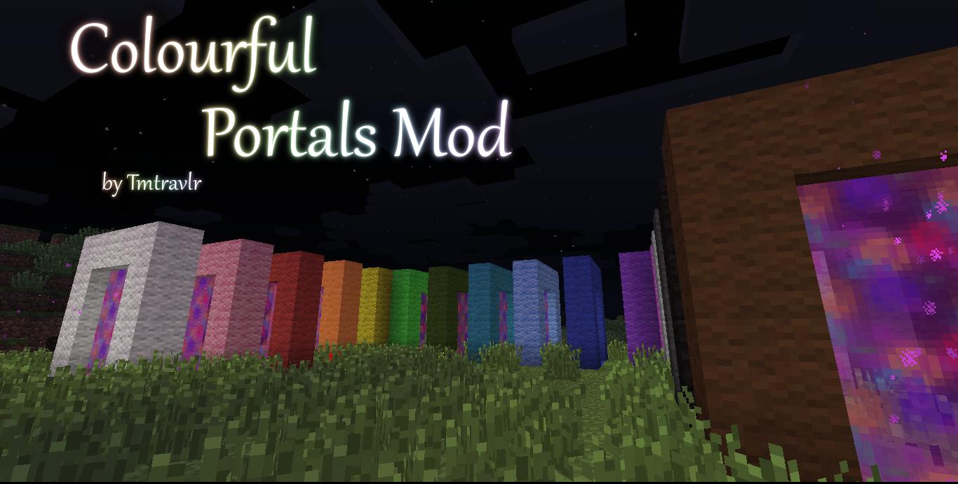 Colourful Portals Mod 4