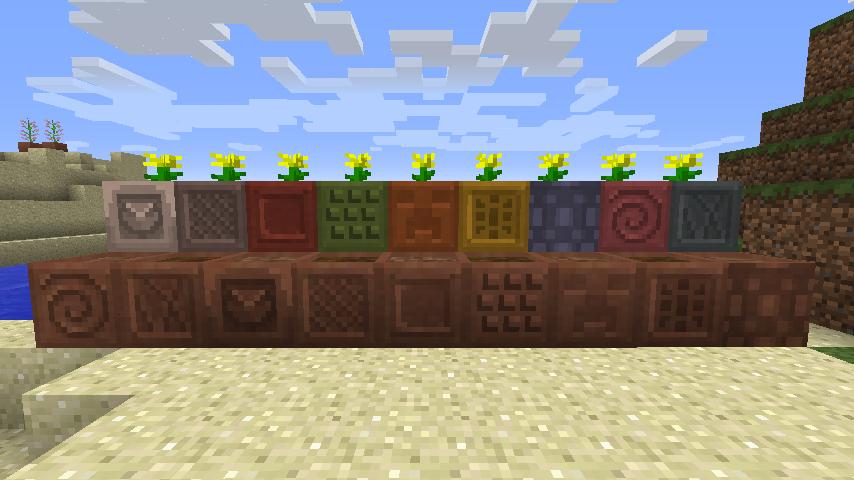 Modular Flower Pots Mod 1